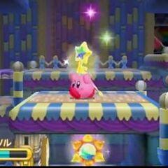 Kirby cogiendo una llave