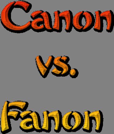 File:CanonvsFanonLogo.png