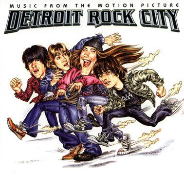 Detroit Rock City (film) Soundtrack cover