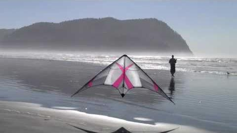 2010 Kymera in Seaside (sport stunt kite prototype)