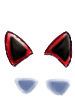 Kitsune ears demonic collection