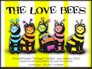 KittyCatS! - The Bugs & BeeS! - Love Bees
