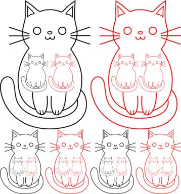 Cat BRRR 358x384
