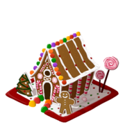 Gingerbread home last