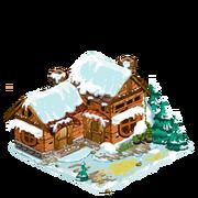 Luxe snow cottage last