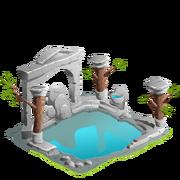Soaking pool pillars premium last