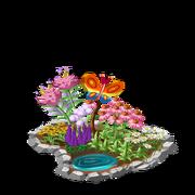 Butterfly garden premium last