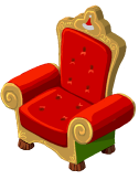 Snow santas chair last