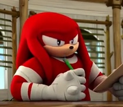 Action Figure Knuckles