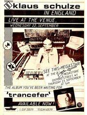 1982-09-22 Venue, London, Great Britain ad 1