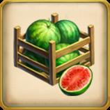 Watermelon Crops framed
