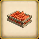 Carrot Crops framed