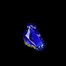 Leadlight blue glass