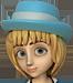 Clo-Blue bonnet blondehair