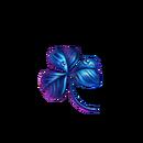Indigo blue clover