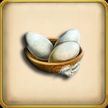 Goose egg framed