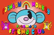 Rainbow monkey eye missing