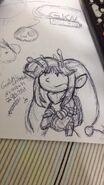 Tiara First Sketch