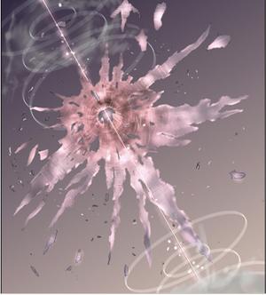 Gravity Gun Shot Space Colony 7 shredded