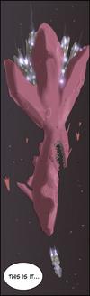 Thanatos Beasts spaceships
