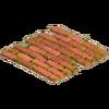 Path brick red str 1