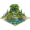 Spa pond