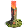 Fire pillar