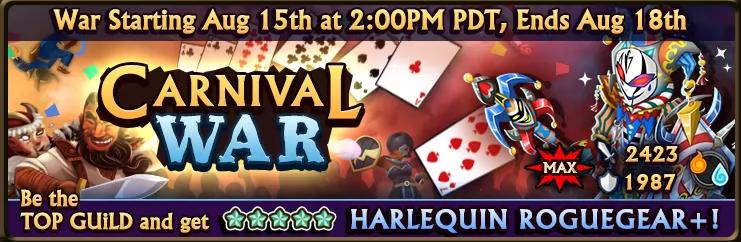 Carnival War Banner