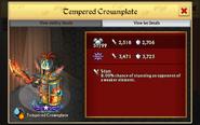 Tempered Crownplate 2nd Evo