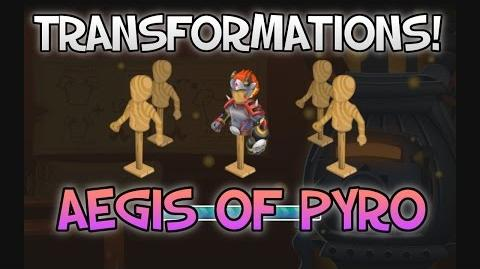 Knights and Dragons Transformations! - The Aegis of Pyro