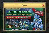 Run For Gems Banner