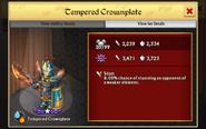 Tempered Crownplate 1st Evo