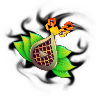 Solar Leafsceptre-Wildfire Charm (Amulet)