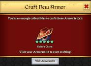 Kaito's Charm Armor Unlock