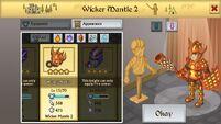 Wicker Mantle 2 M
