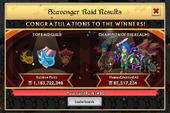 Scavenger Raid iOS Winners