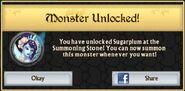 Sugarplum Monster Unlock