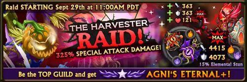 Harvester Raid