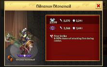 Silvanus Stonemail 1st Evo