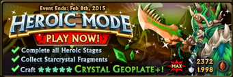 Crystal Geoplate Banner