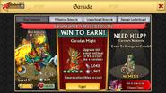 Garuda Level 43 Stats