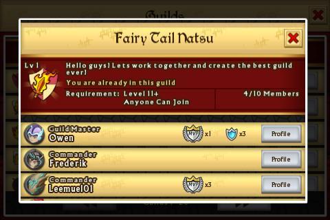 Guild Profile