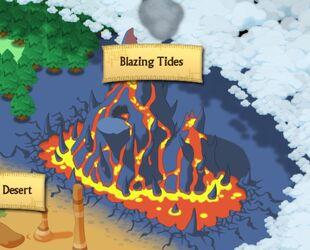 Blazing Tides map