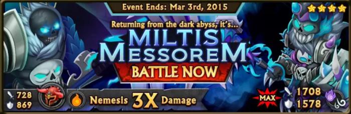 Miltis Messorem Banner