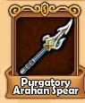 Purgatory Arahan Spear