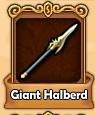 Giant Halberd 2