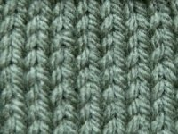 Stockinette Stitch-Right Side