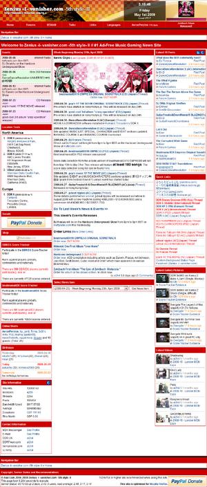 Zenius -I- Vanisher website screenshot