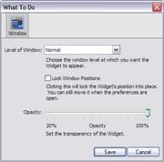Konfabulator Win Window Preferences