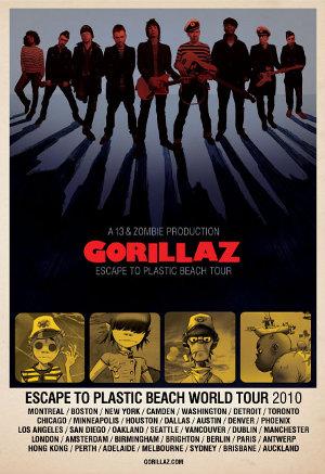 escape to plastic beach world tour gorillaz wiki